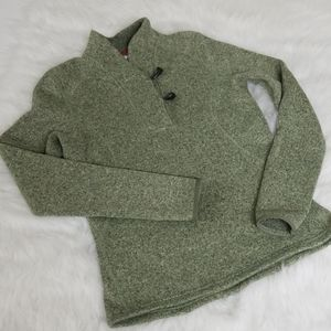 The North Face small toggle sweater